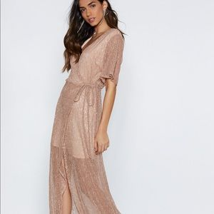 Semi-Sheer Cocktail Dress from Nasty Gal